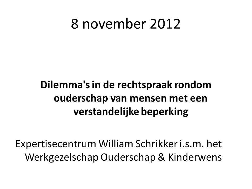8 november 2012