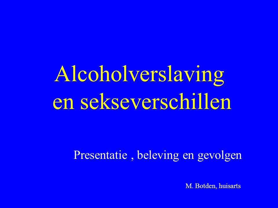 Alcoholverslaving en sekseverschillen