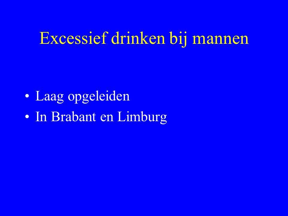 Excessief drinken bij mannen