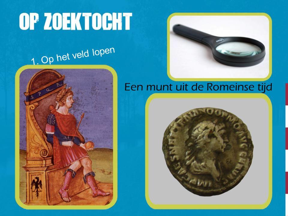 Een munt uit de Romeinse tijd