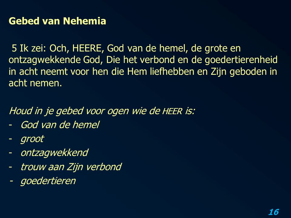 Gebed van Nehemia