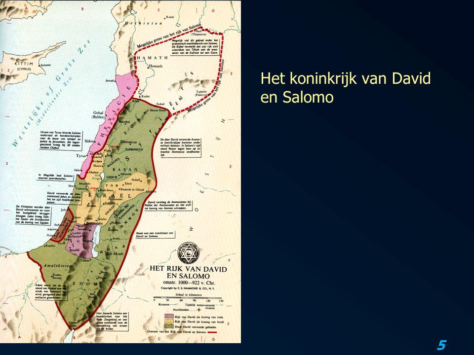 Het koninkrijk van David en Salomo