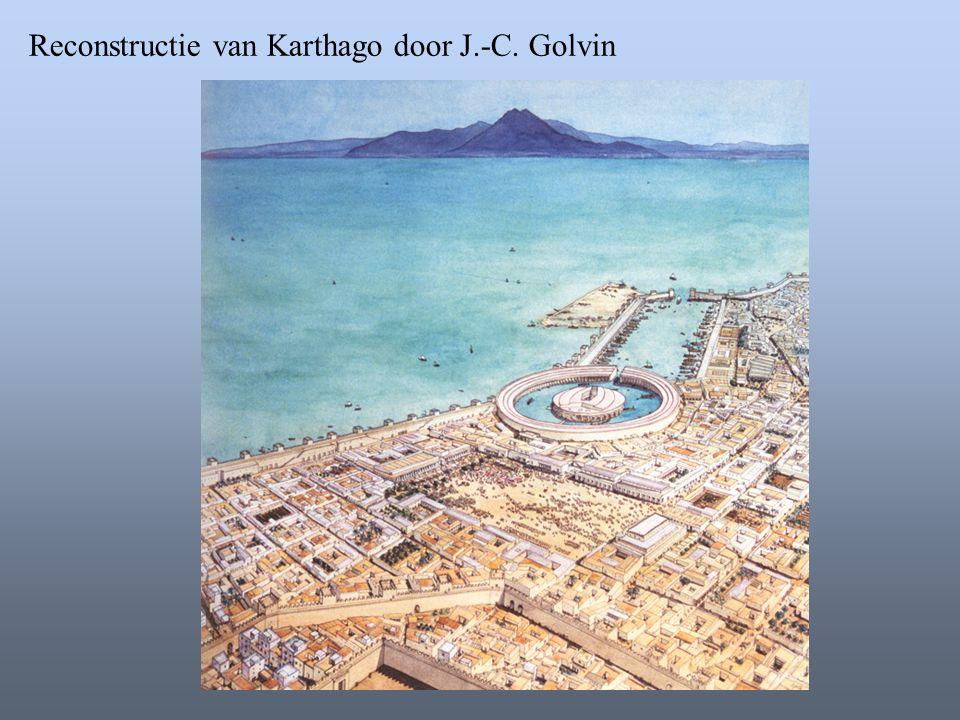 Reconstructie van Karthago door J.-C. Golvin