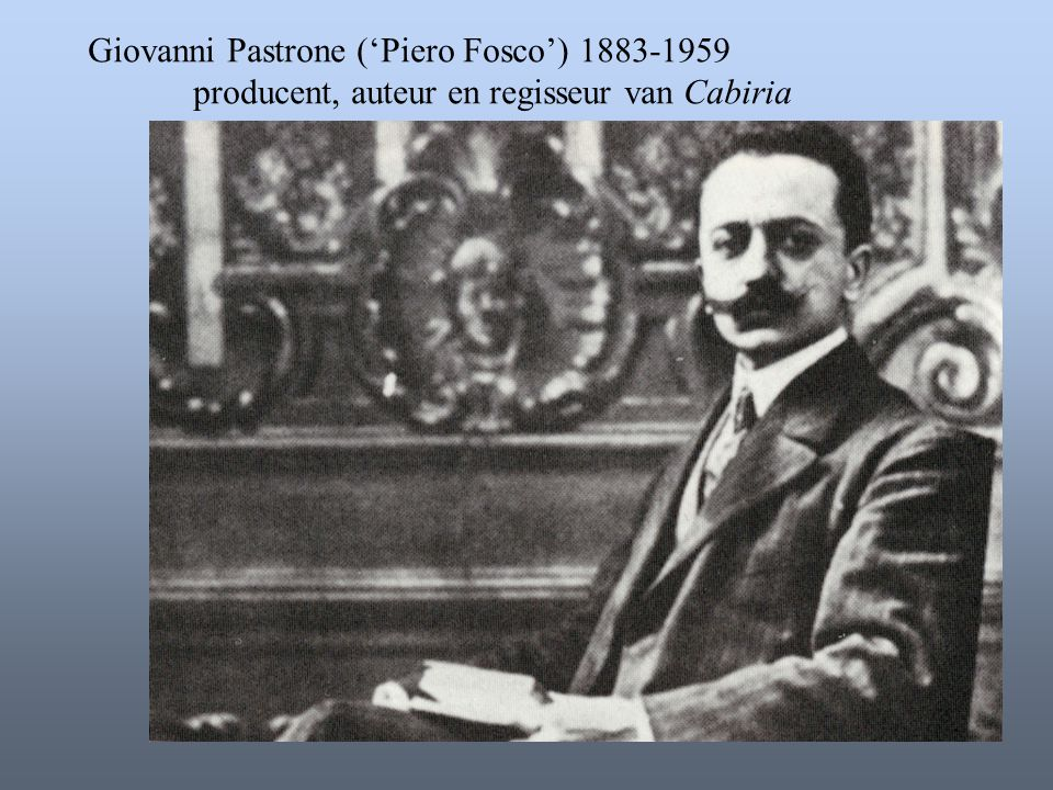 Giovanni Pastrone ('Piero Fosco')
