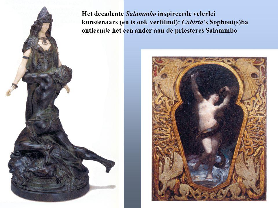 Het decadente Salammbo inspireerde velerlei