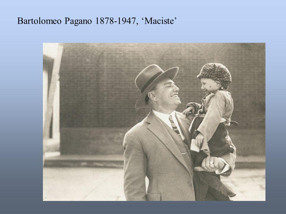 Bartolomeo Pagano 1878-1947, 'Maciste'