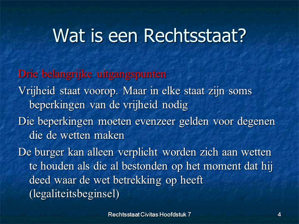 Rechtsstaat Civitas Hoofdstuk 7