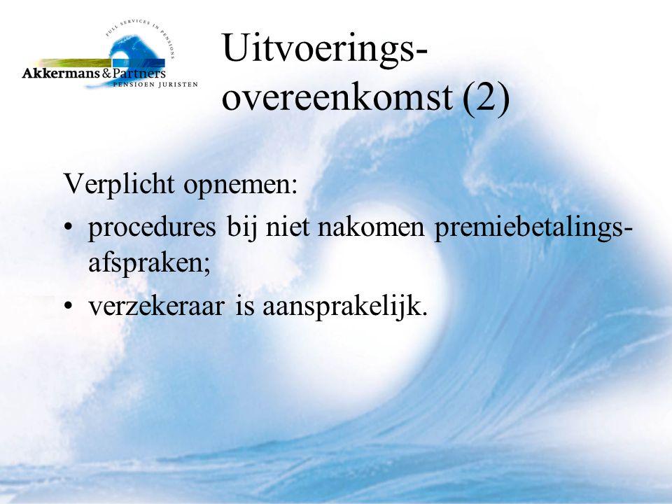 Uitvoerings- overeenkomst (2)