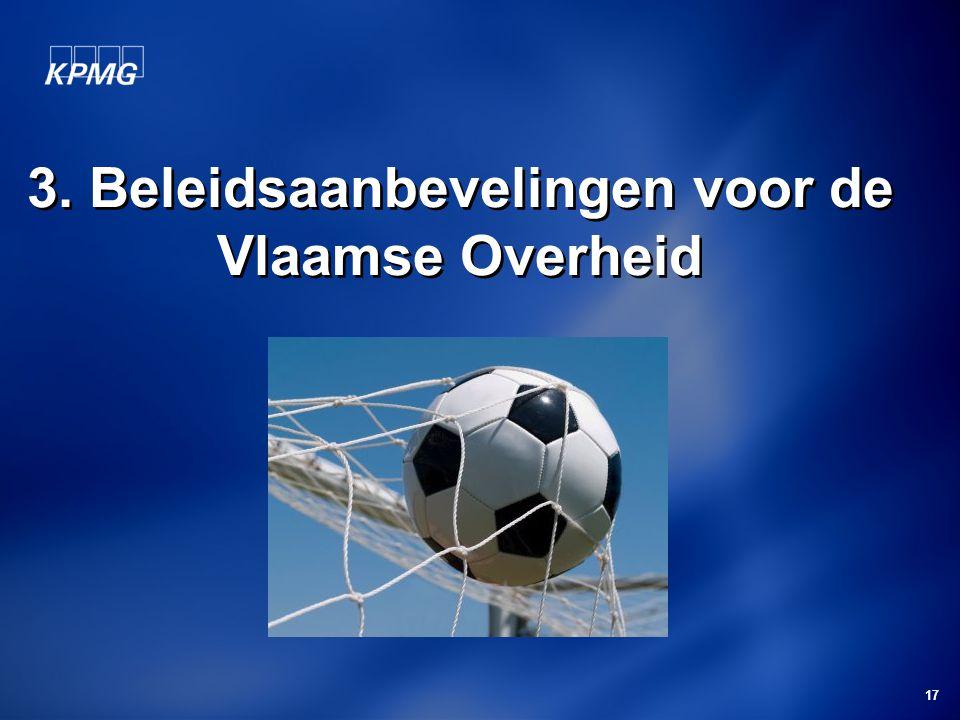 3. Beleidsaanbevelingen voor de Vlaamse Overheid