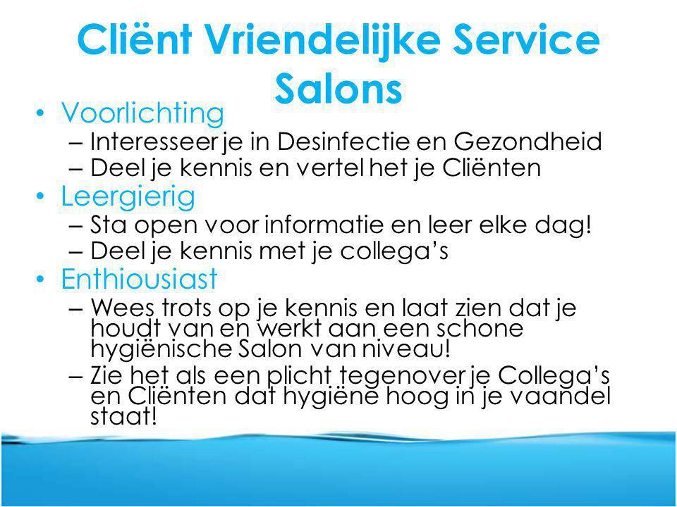 Cliënt Vriendelijke Service Salons