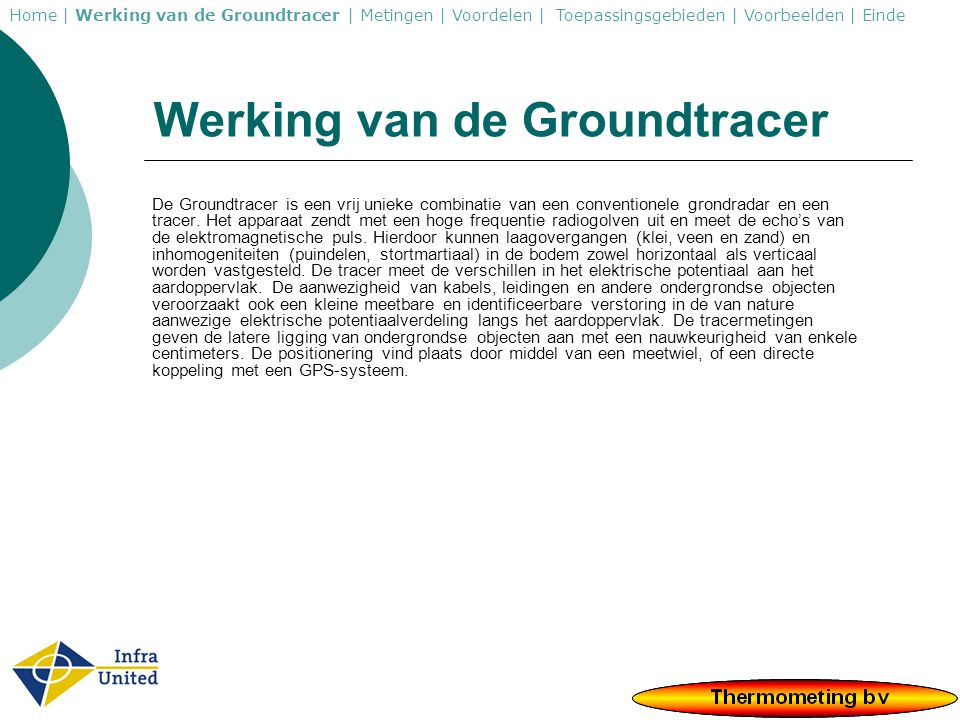 Werking van de Groundtracer