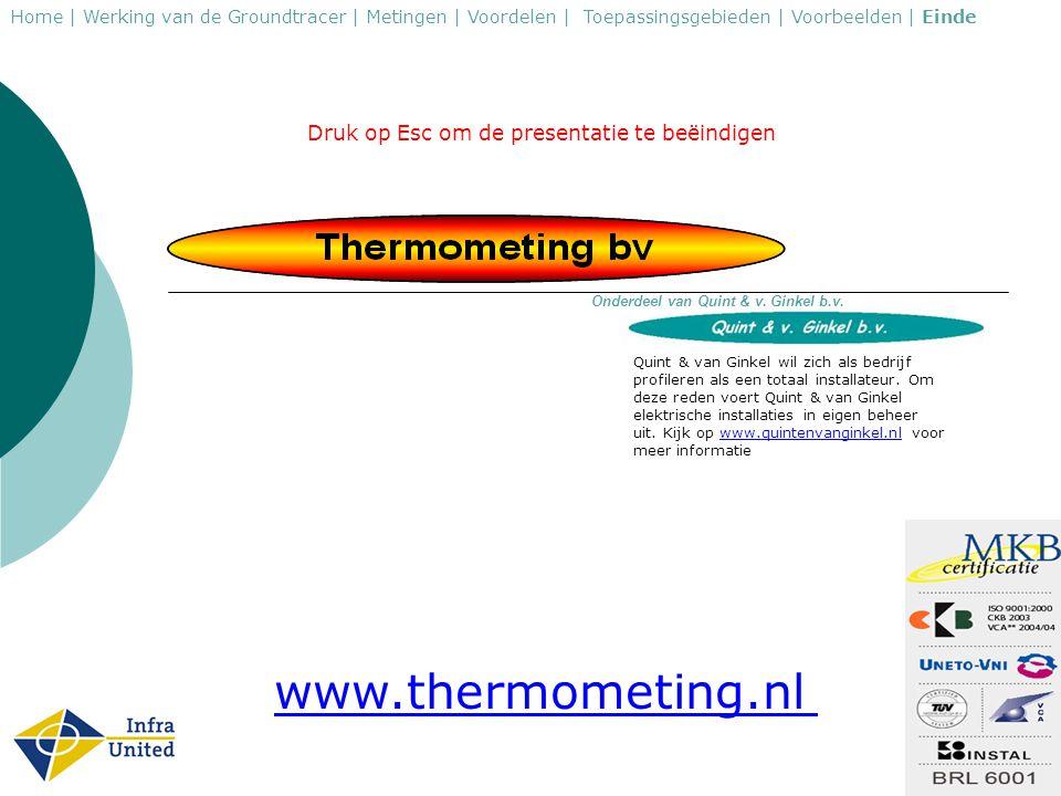 www.thermometing.nl Druk op Esc om de presentatie te beëindigen
