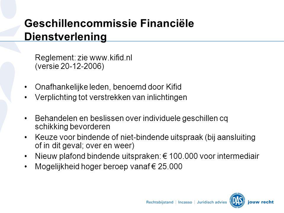Geschillencommissie Financiële Dienstverlening