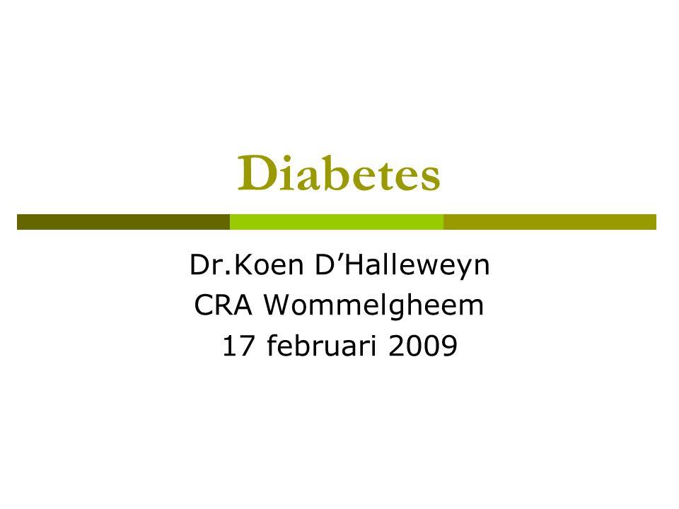 Dr.Koen D'Halleweyn CRA Wommelgheem 17 februari 2009