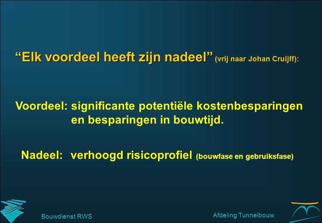 Elk voordeel heeft zijn nadeel (vrij naar Johan Cruijff):