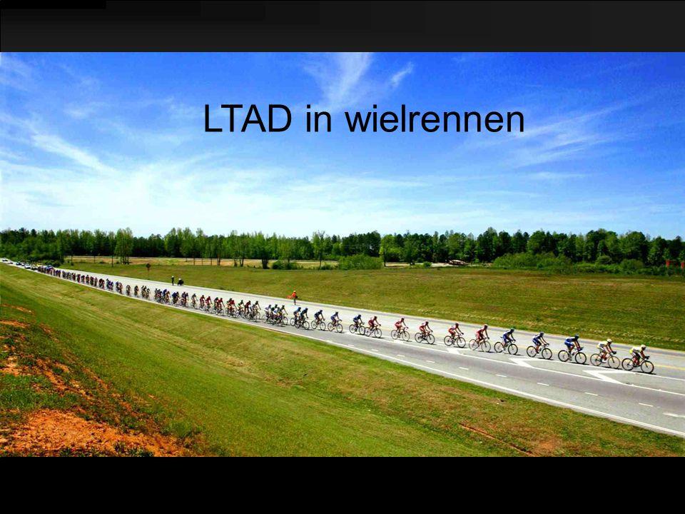 LTAD in wielrennen