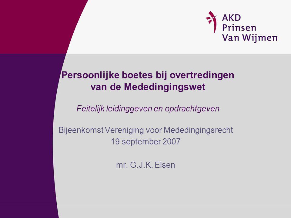 Bijeenkomst Vereniging voor Mededingingsrecht