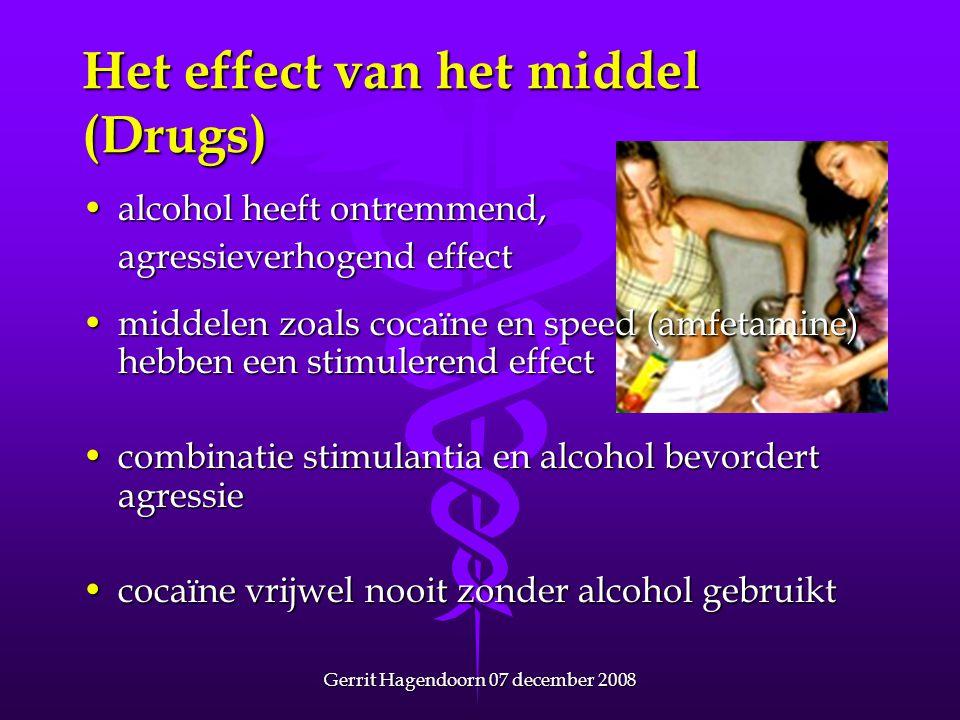Het effect van het middel (Drugs)