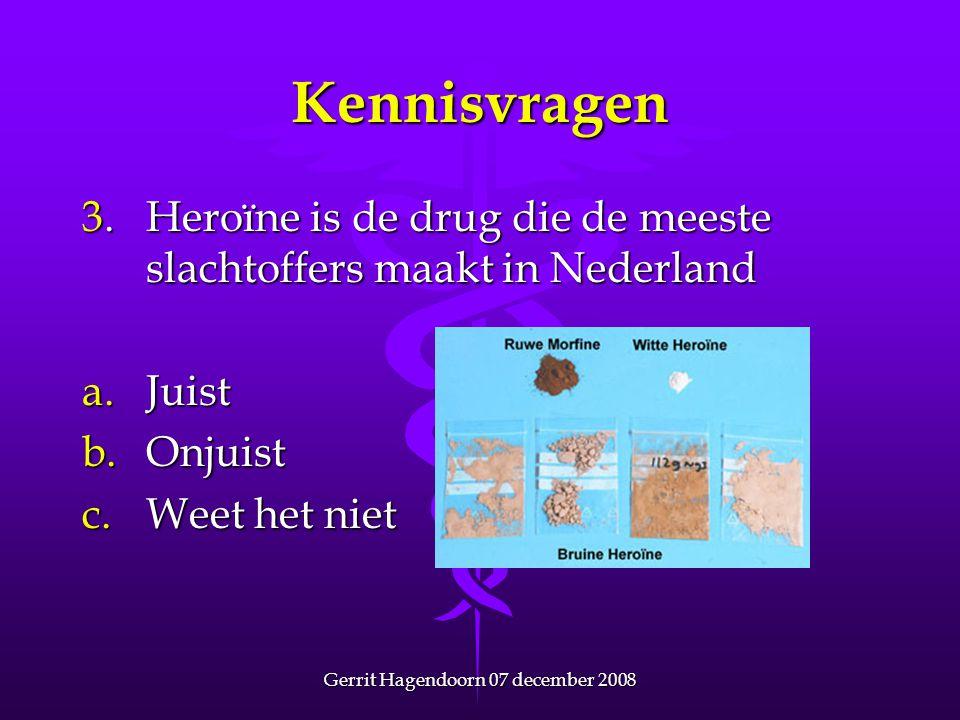 Gerrit Hagendoorn 07 december 2008
