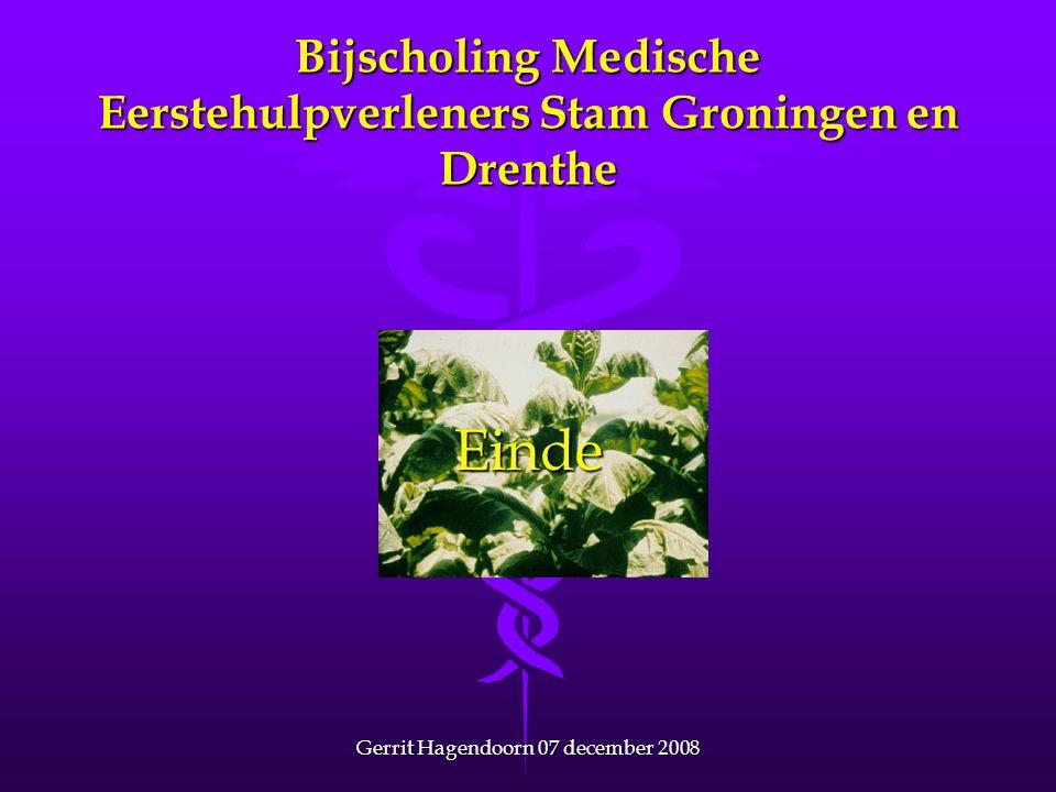 Bijscholing Medische Eerstehulpverleners Stam Groningen en Drenthe