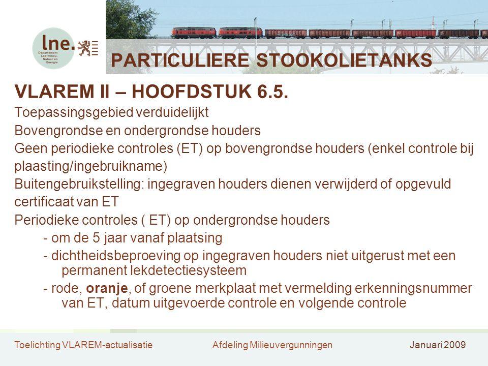 PARTICULIERE STOOKOLIETANKS