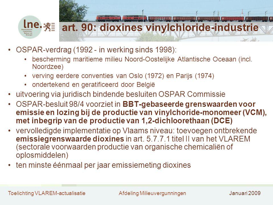 art. 90: dioxines vinylchloride-industrie