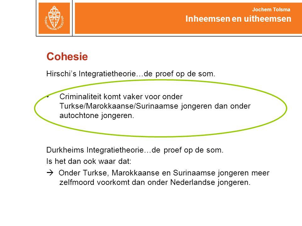 Cohesie Inheemsen en uitheemsen