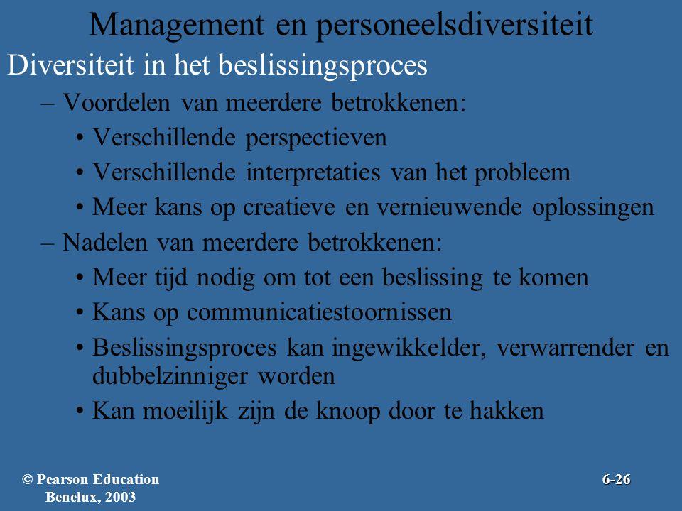 Management en personeelsdiversiteit