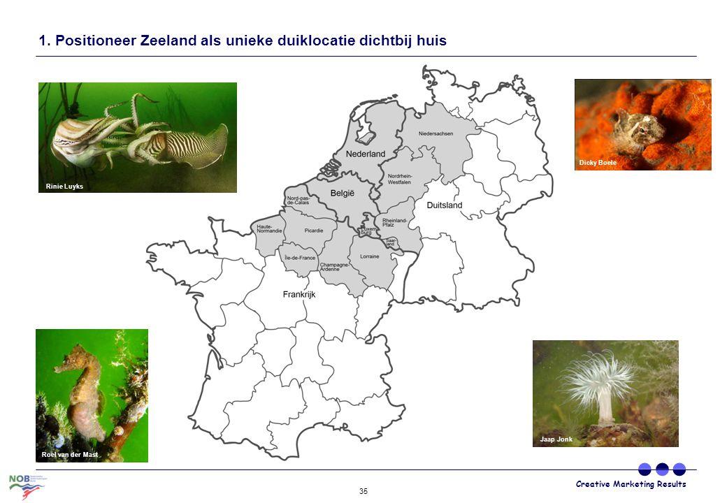1. Positioneer Zeeland als unieke duiklocatie dichtbij huis