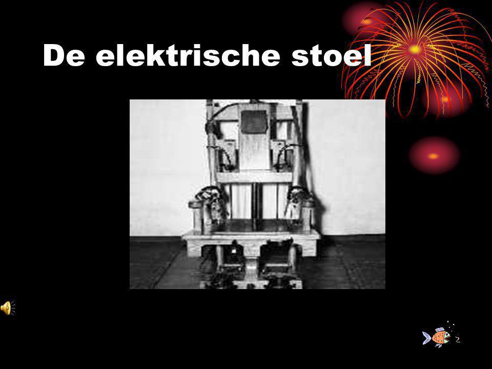 De elektrische stoel h