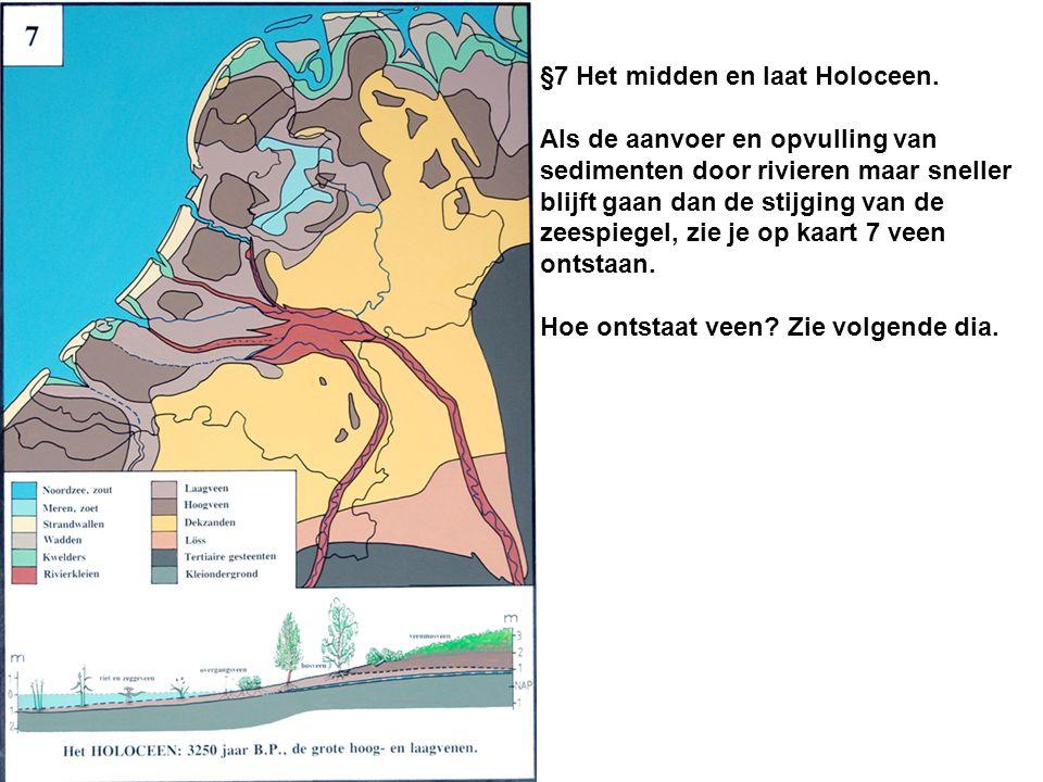 §7 Het midden en laat Holoceen.