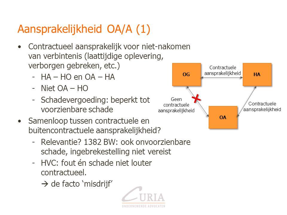 Aansprakelijkheid OA/A (1)