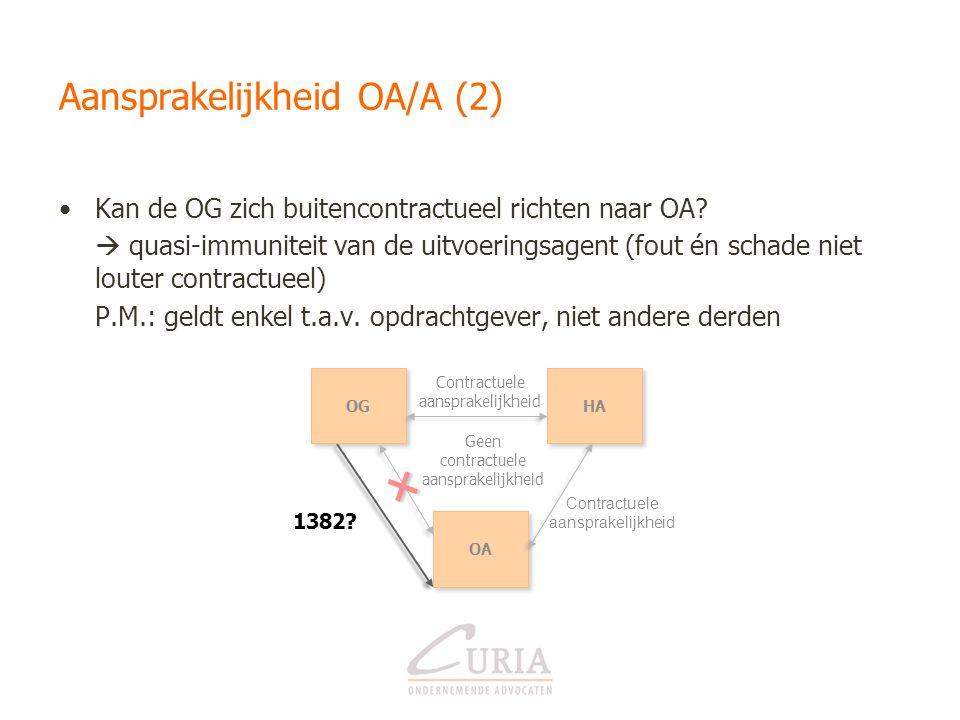 Aansprakelijkheid OA/A (2)