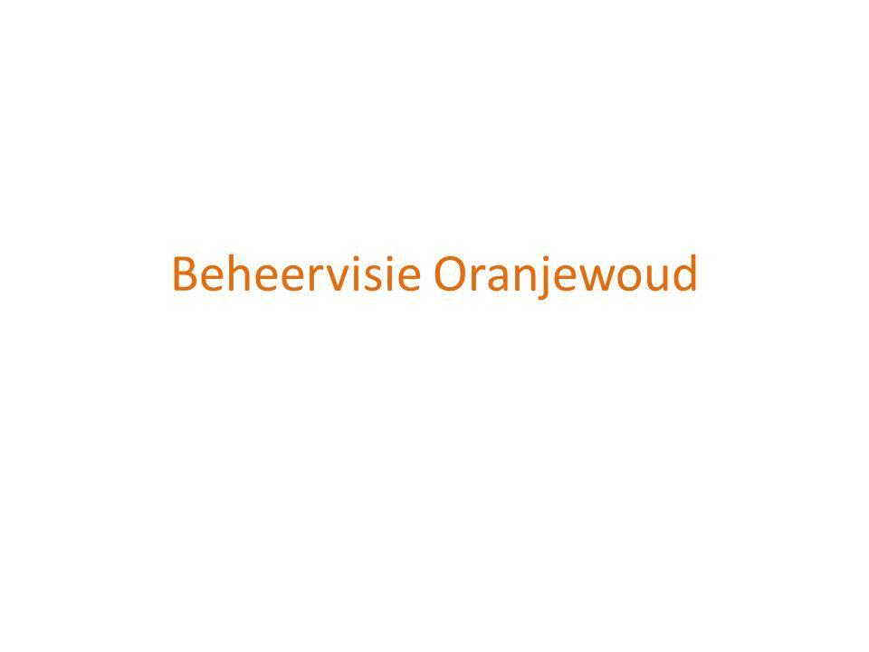 Beheervisie Oranjewoud