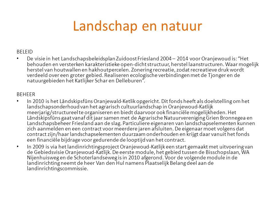 Landschap en natuur BELEID