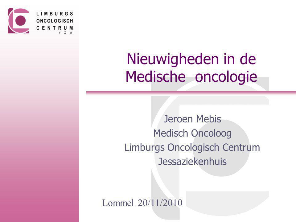 Nieuwigheden in de Medische oncologie