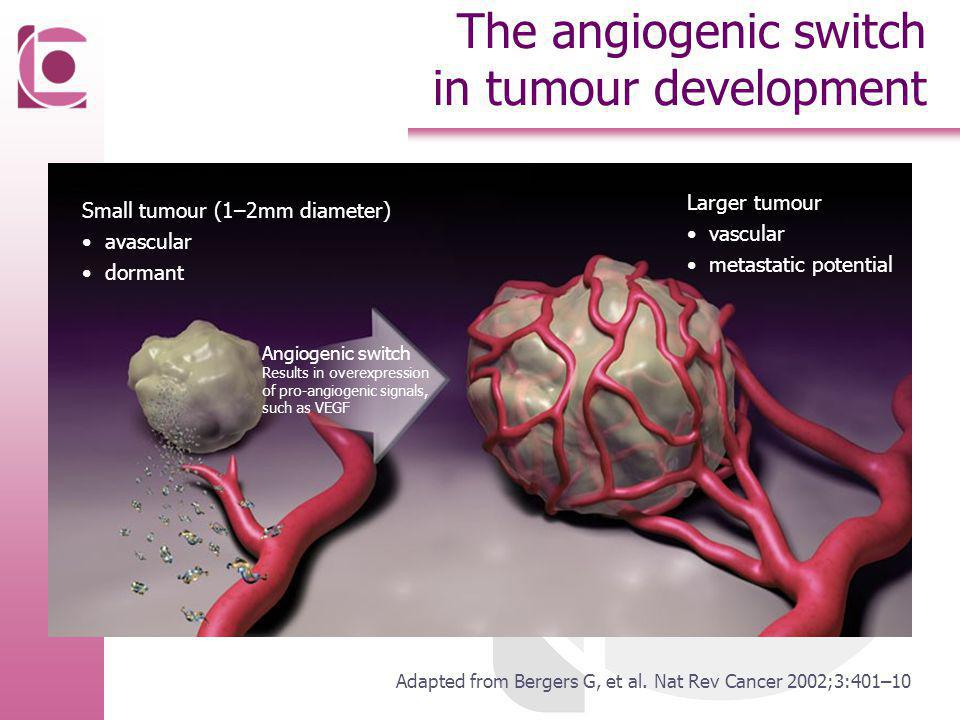The angiogenic switch in tumour development