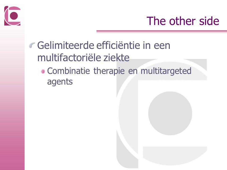 The other side Gelimiteerde efficiëntie in een multifactoriële ziekte