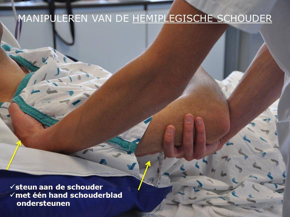 MANIPULEREN VAN DE HEMIPLEGISCHE SCHOUDER
