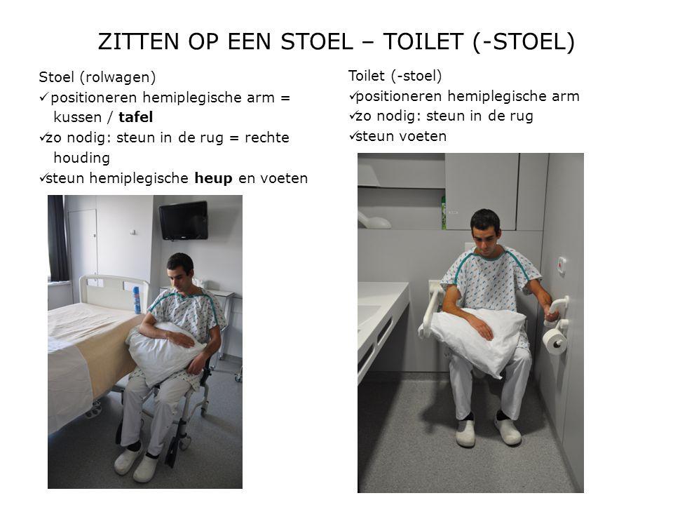 ZITTEN OP EEN STOEL – TOILET (-STOEL)