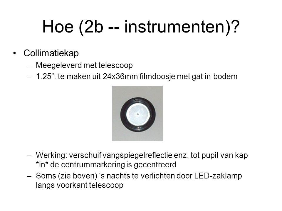 Hoe (2b -- instrumenten)