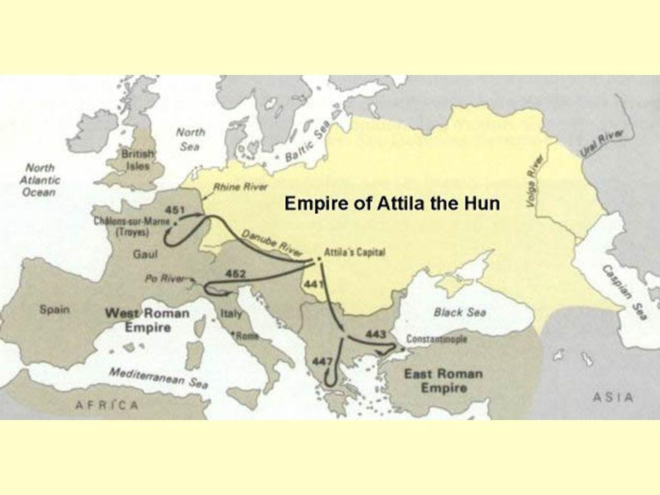 21. Het rijk van Attila