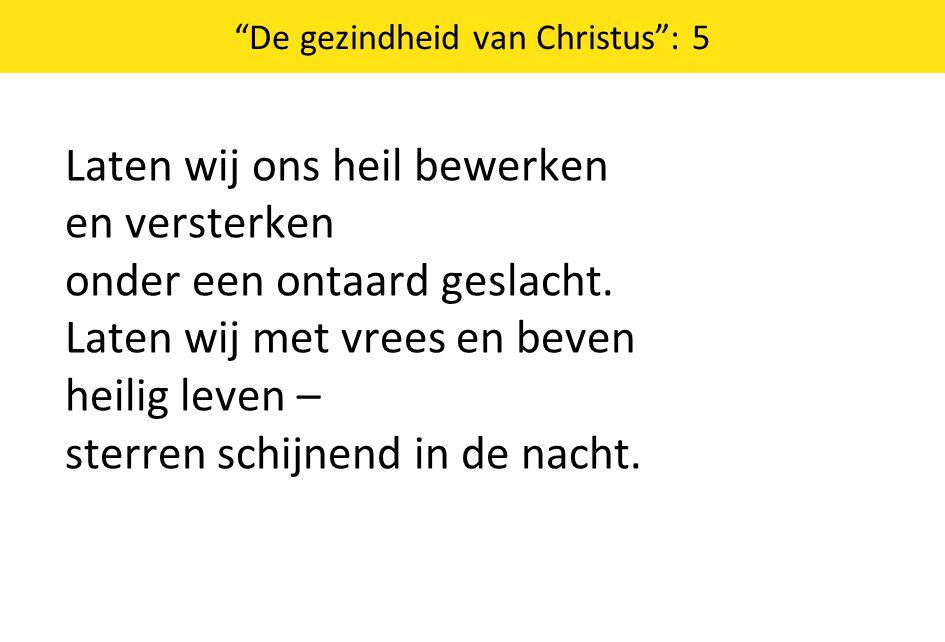 De gezindheid van Christus : 5