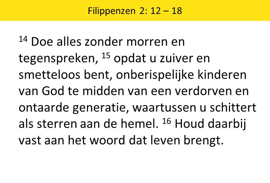 Filippenzen 2: 12 – 18