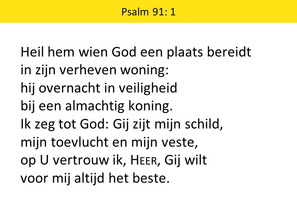 Psalm 91: 1
