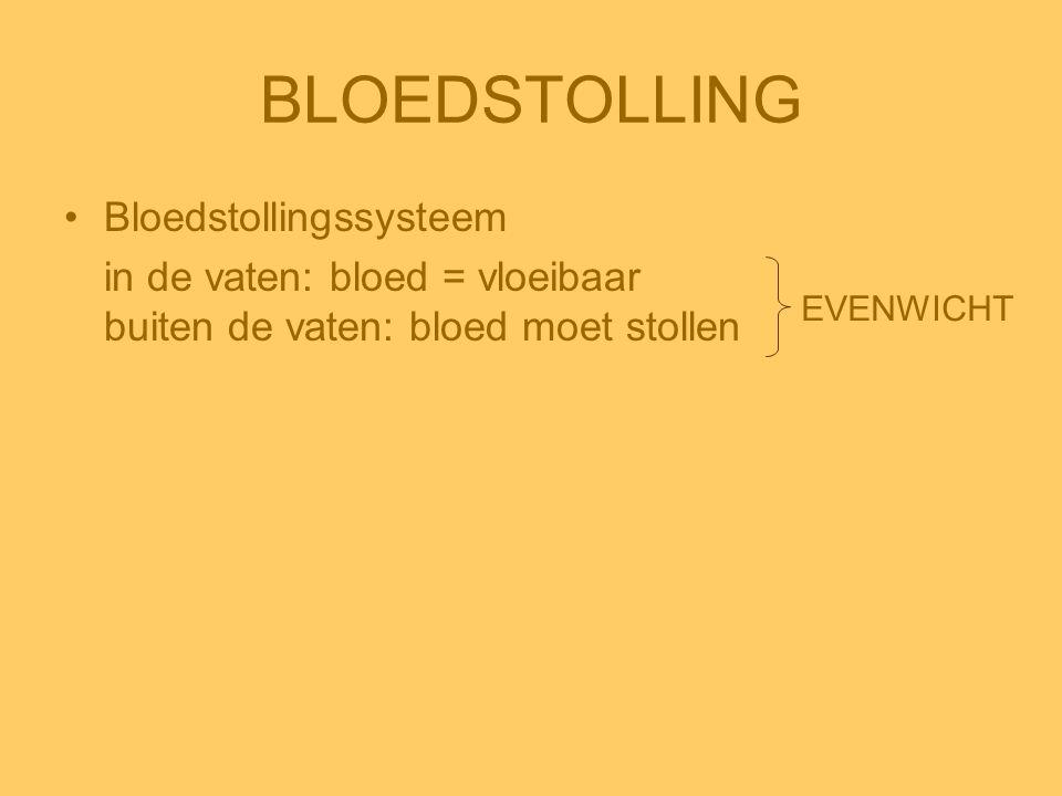 BLOEDSTOLLING Bloedstollingssysteem