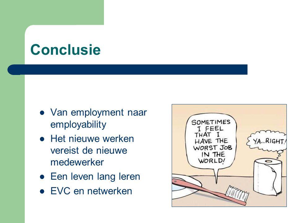 Conclusie Van employment naar employability