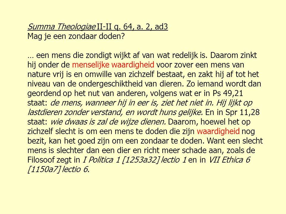 Summa Theologiae II-II q. 64, a. 2, ad3