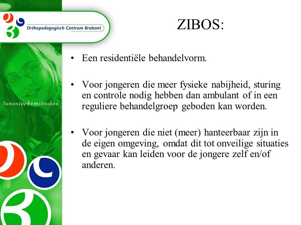 ZIBOS: Een residentiële behandelvorm.