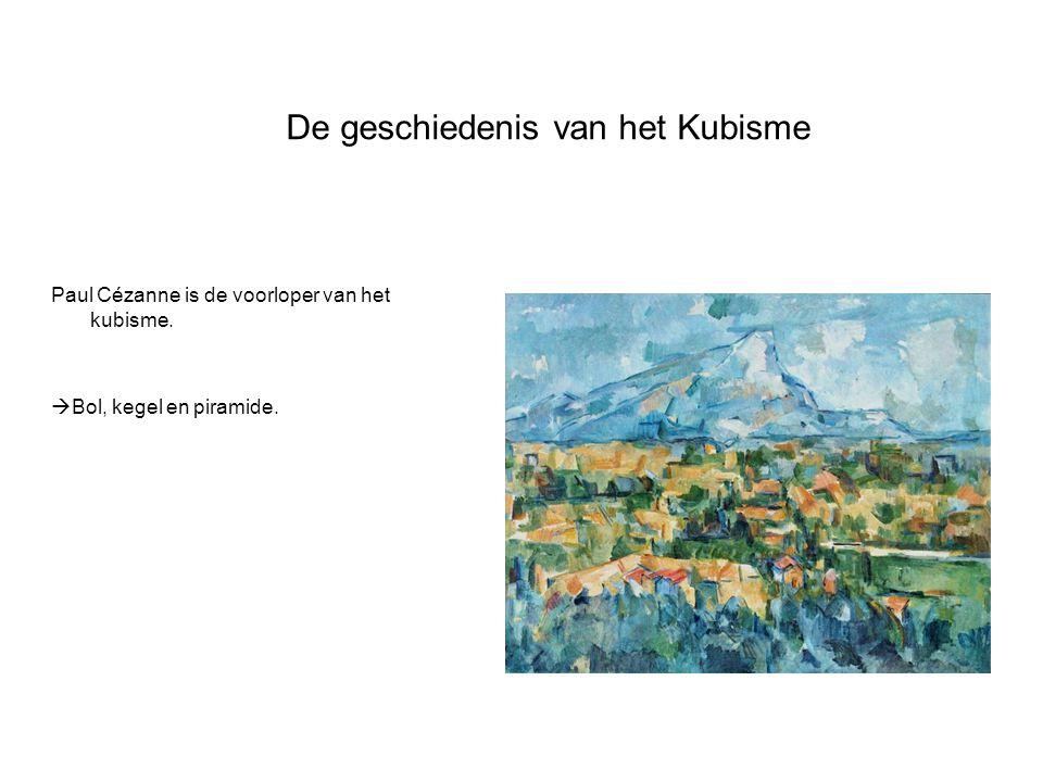 De geschiedenis van het Kubisme